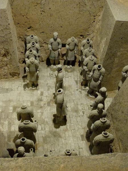 Pabellón 3 de los guerreros de Xian