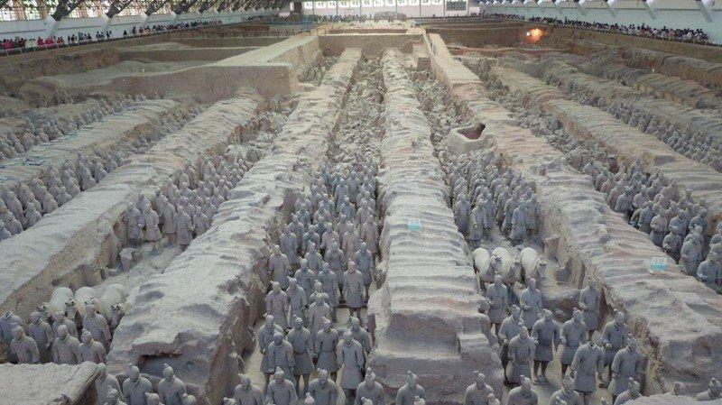 Un día con el ejército de terracota de Xian