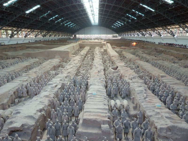 Vista general de Pabellón 1 de Xian