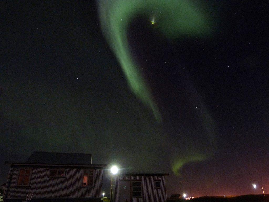 Auroras Boreales bailando sobre nuestra casa