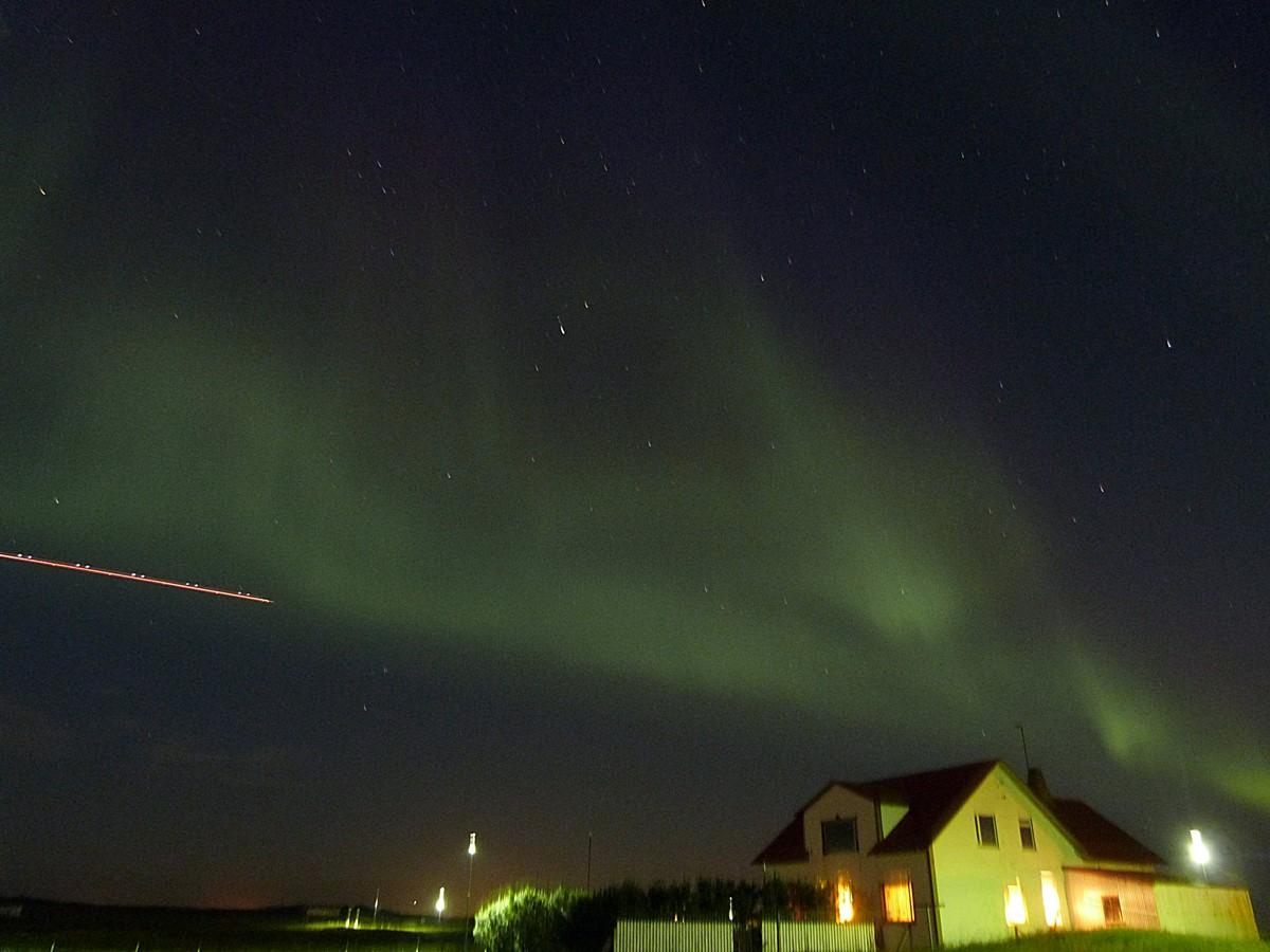 Auroras Boreales en la casa de nuestro vecino