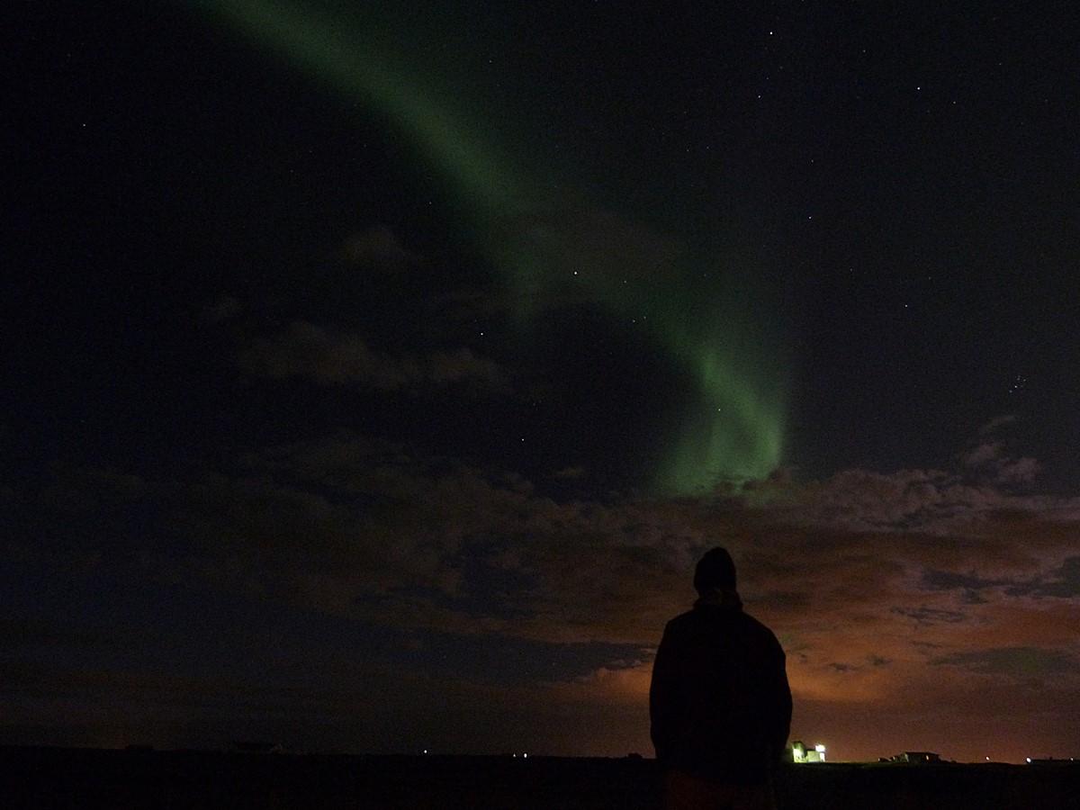 Contemplando las últimas Auroras Boreales en Islandia
