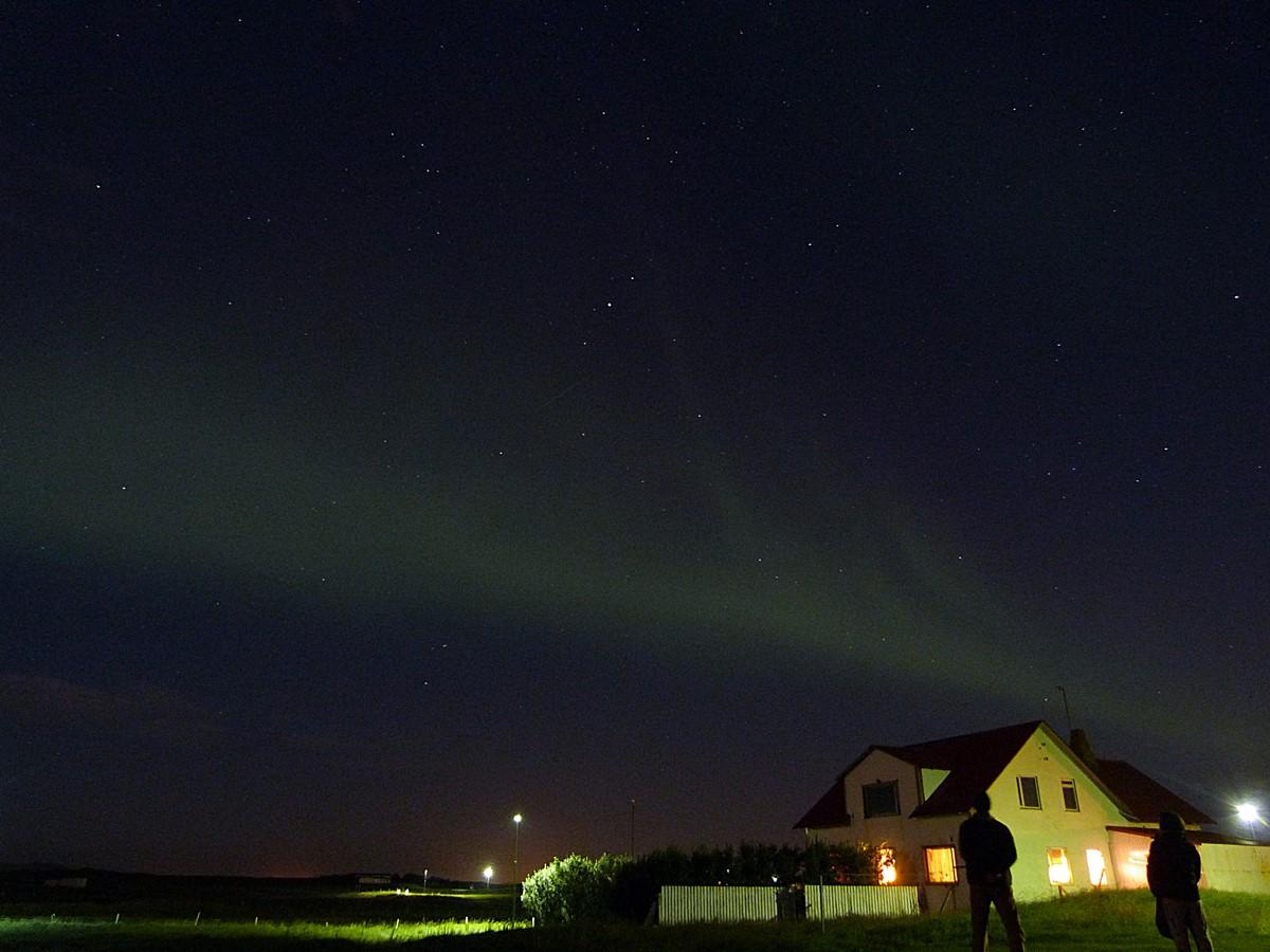 Contemplando las primeras Auroras