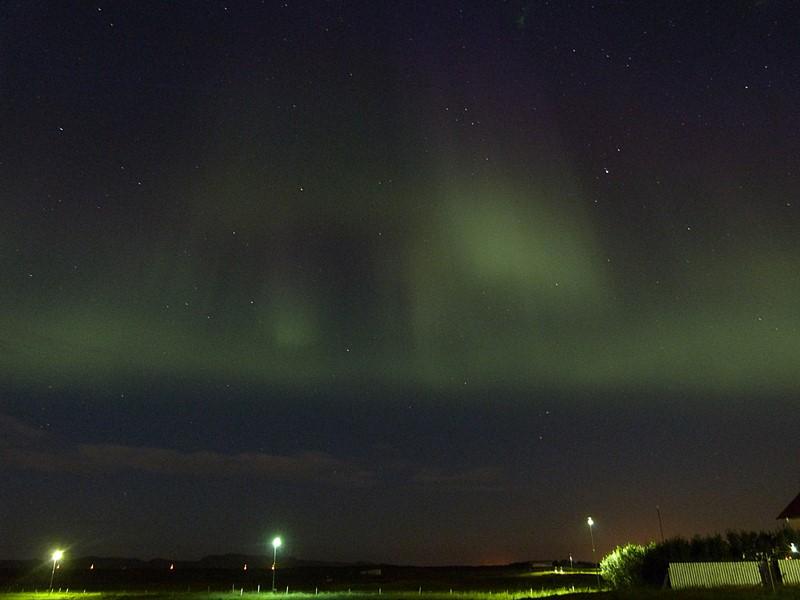 Las primeras Auroras Boreales en Islandia