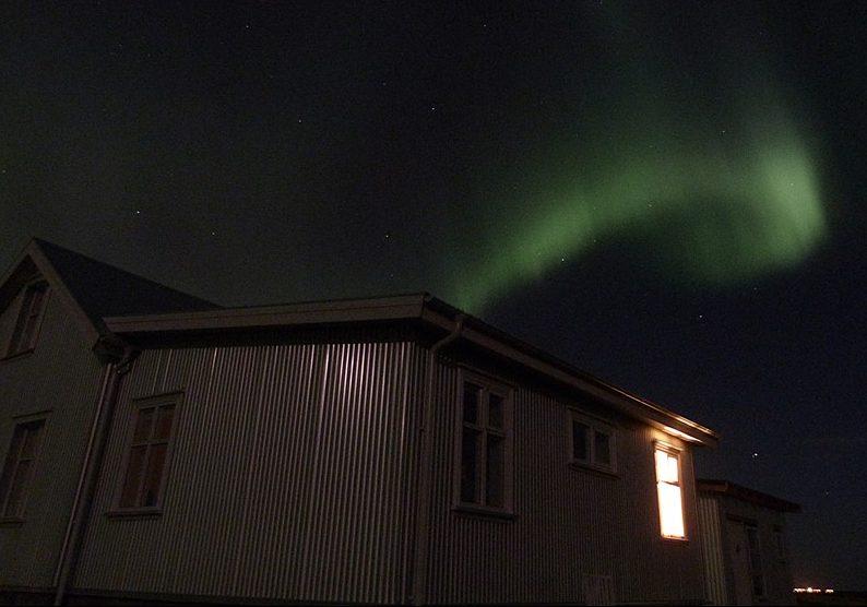 Nuestra casa estrellada con Auroras