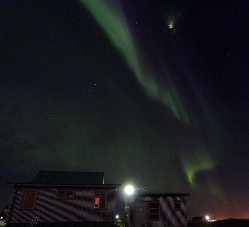 La casa encendida de Islandia