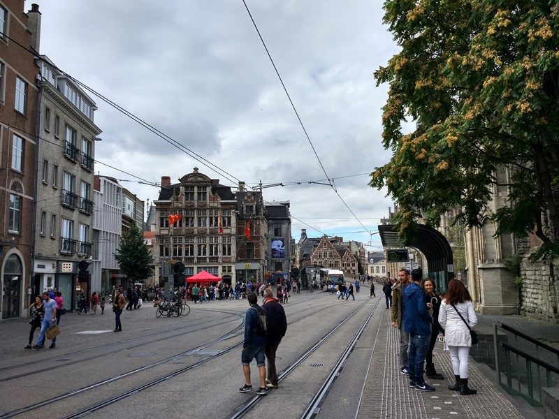 Casco histórico de Gante