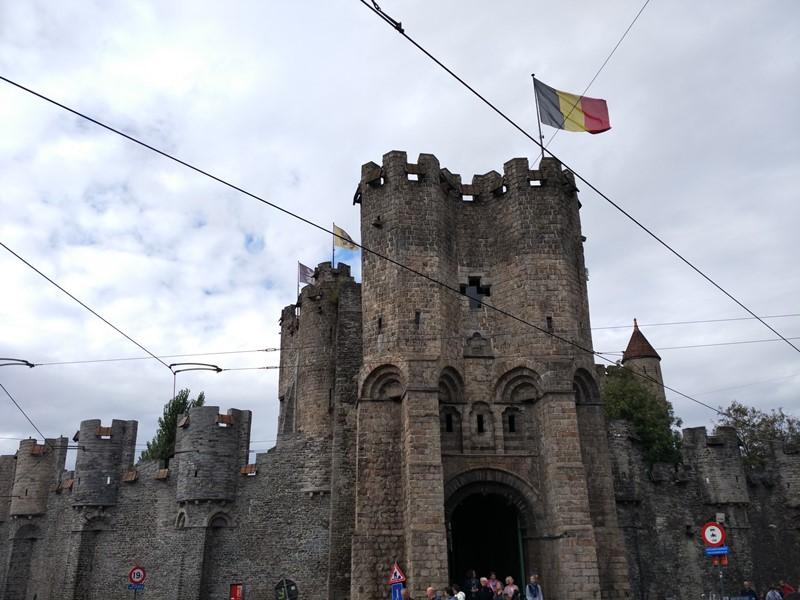 El Castillo de los Condes en Gante