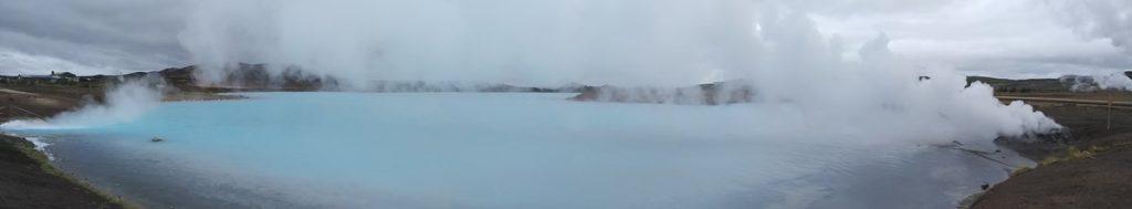 Zonas geotérmicas en Islandia