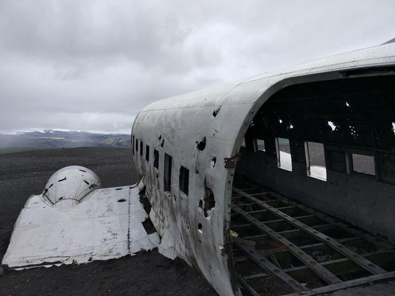 Avión estrellado en Islandia