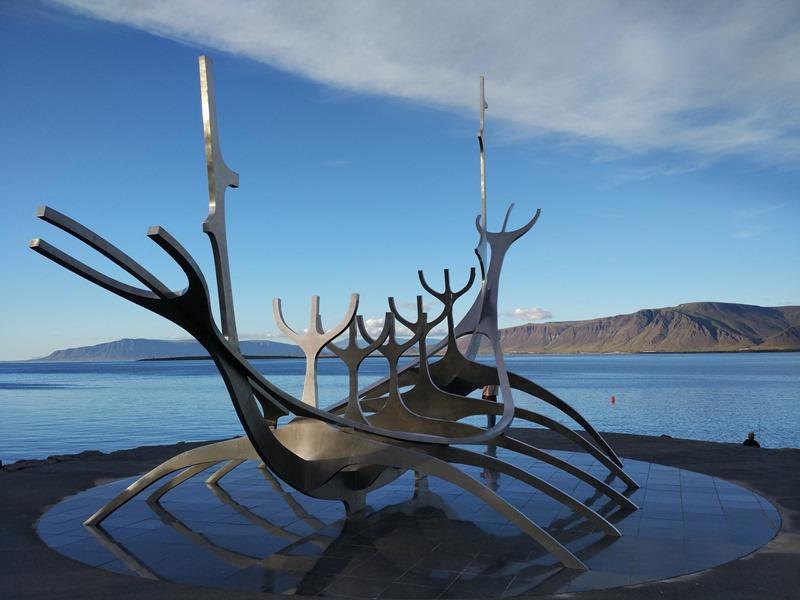 El viajero del Sol en Reykjavík