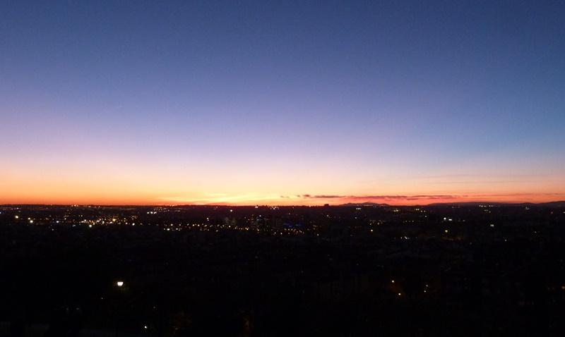 Hora Azul en Madrid