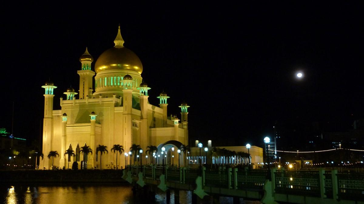 Luna llena en Bandar Seri Begawan