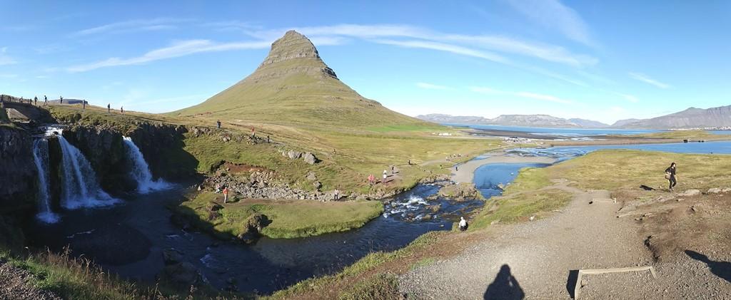Monte Kirkjufell y alrededores