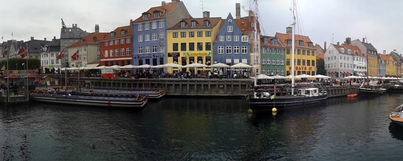 Nyhavn - Clásica postal de Copenhague