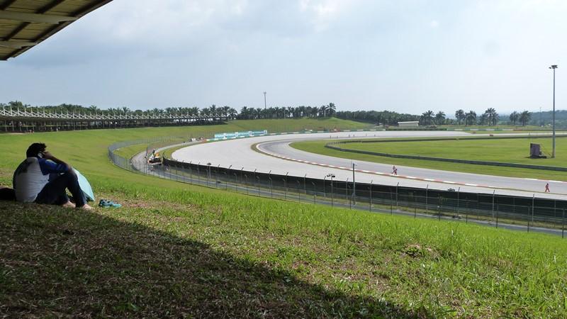 Vista general de nuestra zona C2 en Sepang