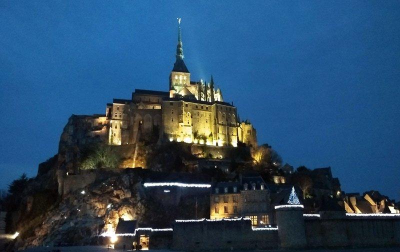 Atardeciendo en Saint-Michel