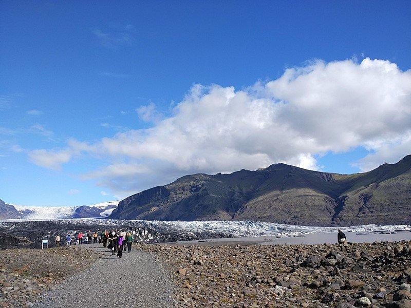 Caminando por Skaftafell