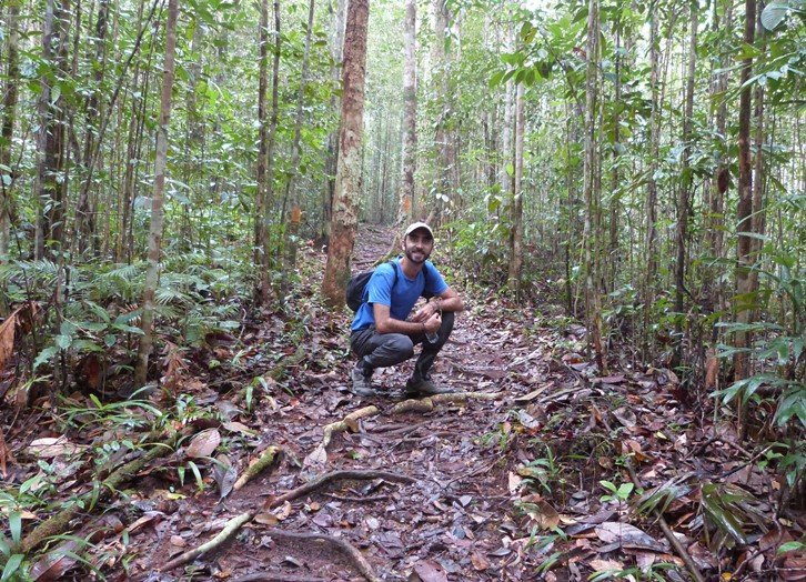 En la selva de Kubah