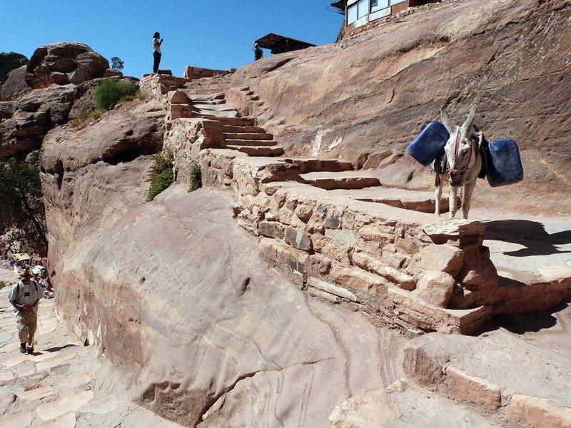 Escenas de ka subida al Monasterio