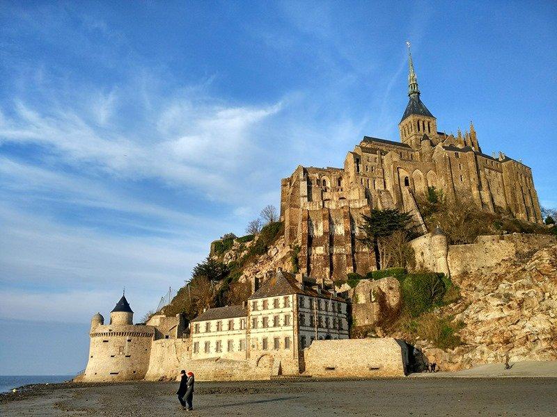 Escenas románticas en Saint-Michel