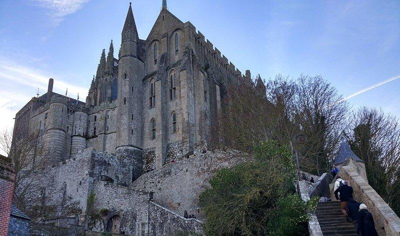 La abadía de Saint-Michel