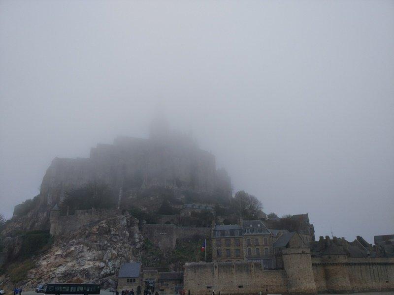 La niebla se apodera del monte
