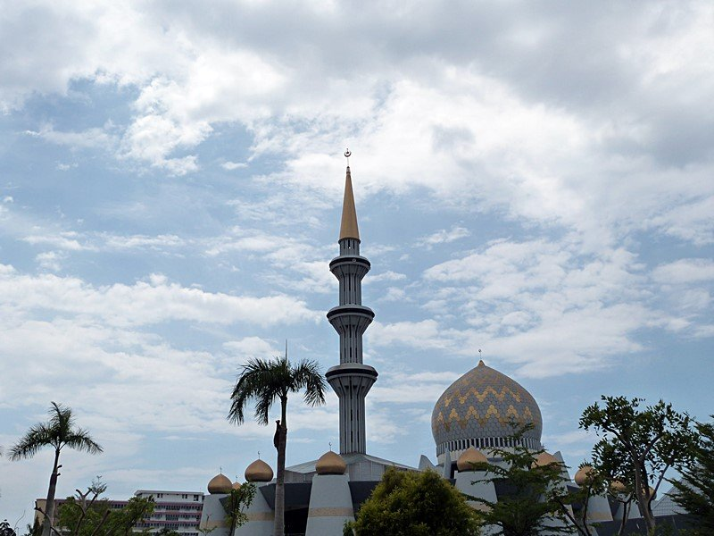 Mezquita en Kota Kinabalu