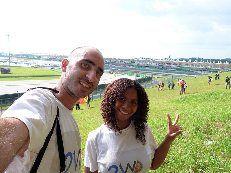 Felices en Malasia
