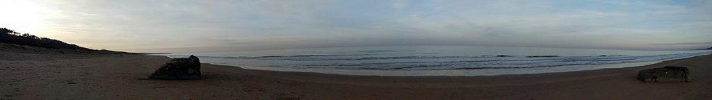 Panorámica de Omaha Beach