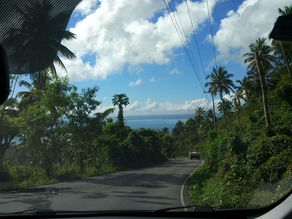 Paisajes de la carretera Sánchez a las Terrenas