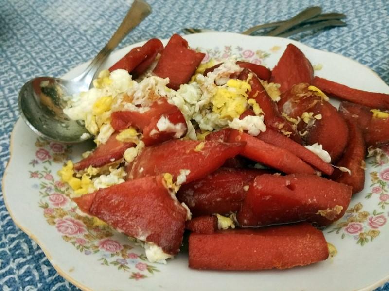 Clásico desayuno dominicano