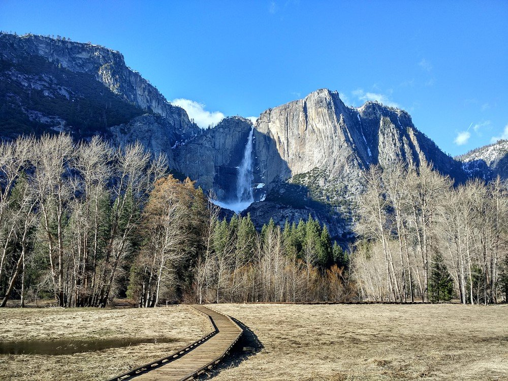 Paisajes de Yosemite