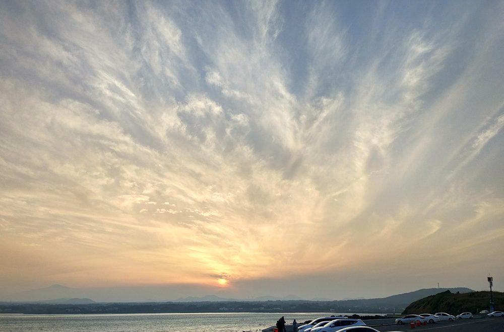 Atardecer en Jeju