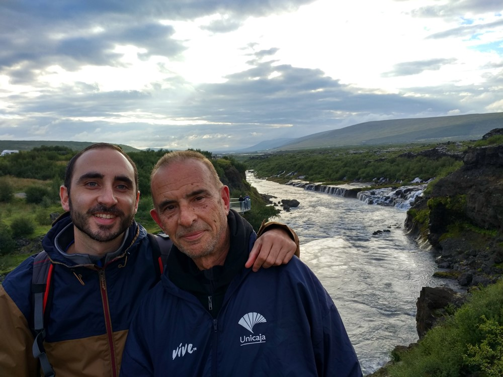 Con Papá Wonder en Islandia