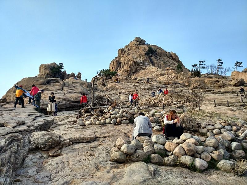 En la cima de Gwongeumseong