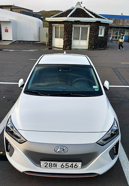 Frontal del Hyundai Ioniq Eléctrico