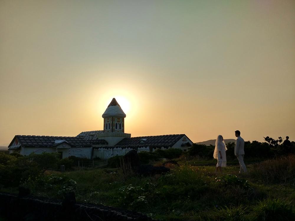 Atardecer y sesión de fotos en Jeju
