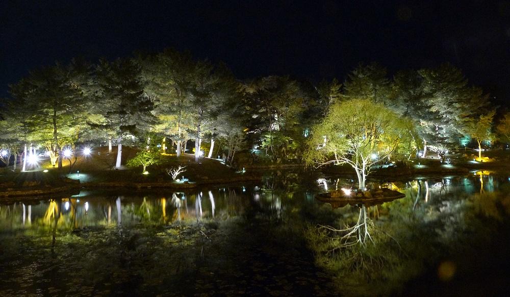 Estanque Anapji en Gyeongju