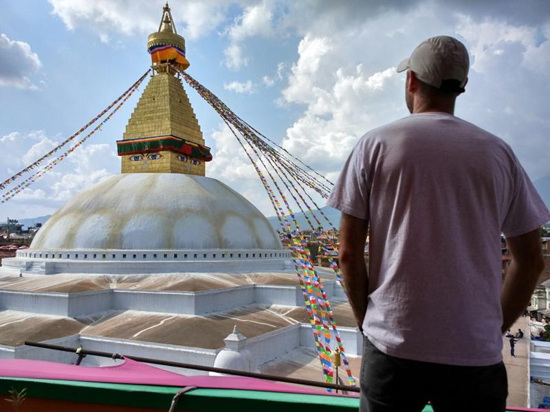 Lo que Nepal me enseñó: la espiritualidad y la paz no están aquí