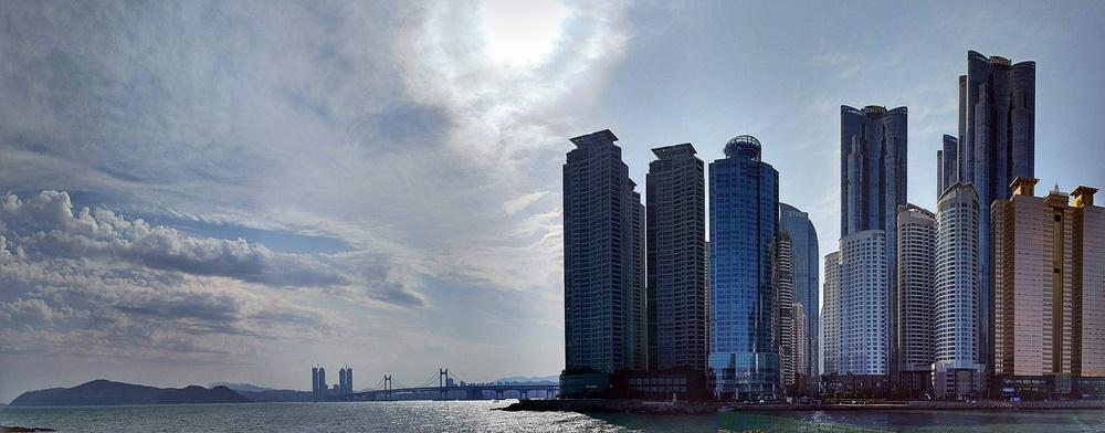 Skyline de Busan