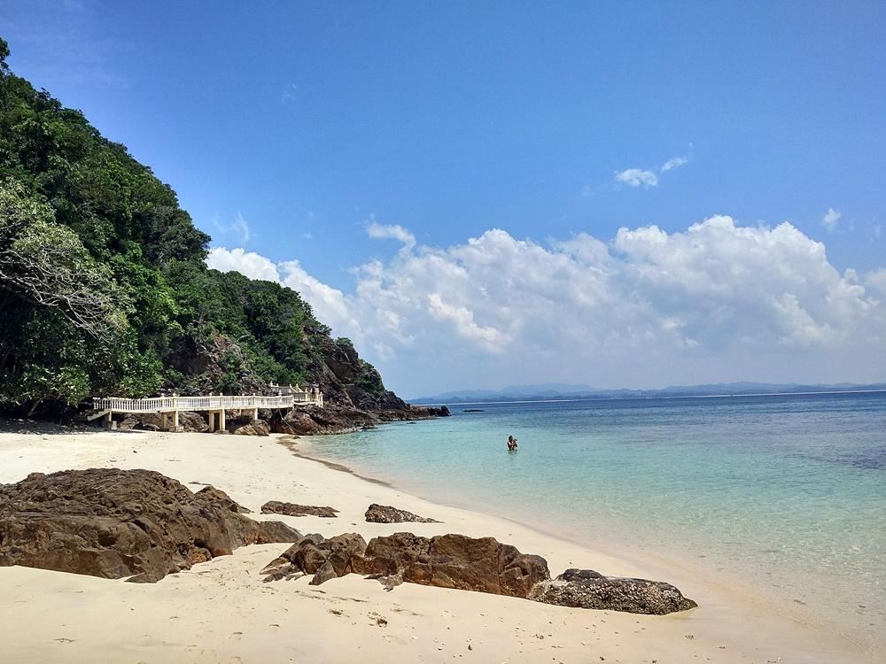 Nuestra playa en Kapas