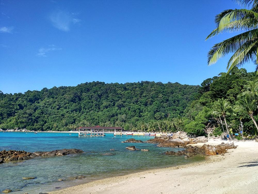 Playa en Perhentian Besar