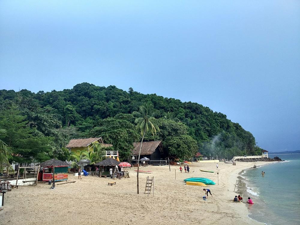 Playa principal de Pulau Kapas