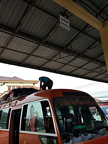 Bus a Luang Namtha