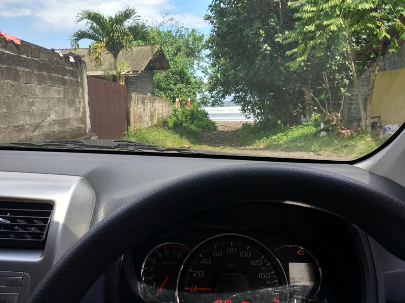 Conduciendo por pequeños caminos de Bali