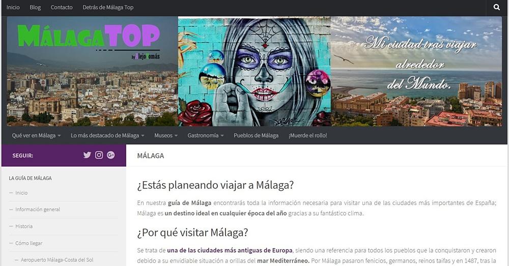 Portada de Málaga Top
