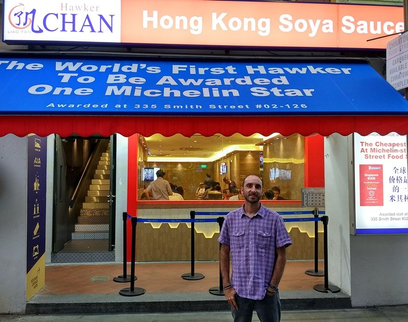 En el Liao Fan Hawker de Singapur