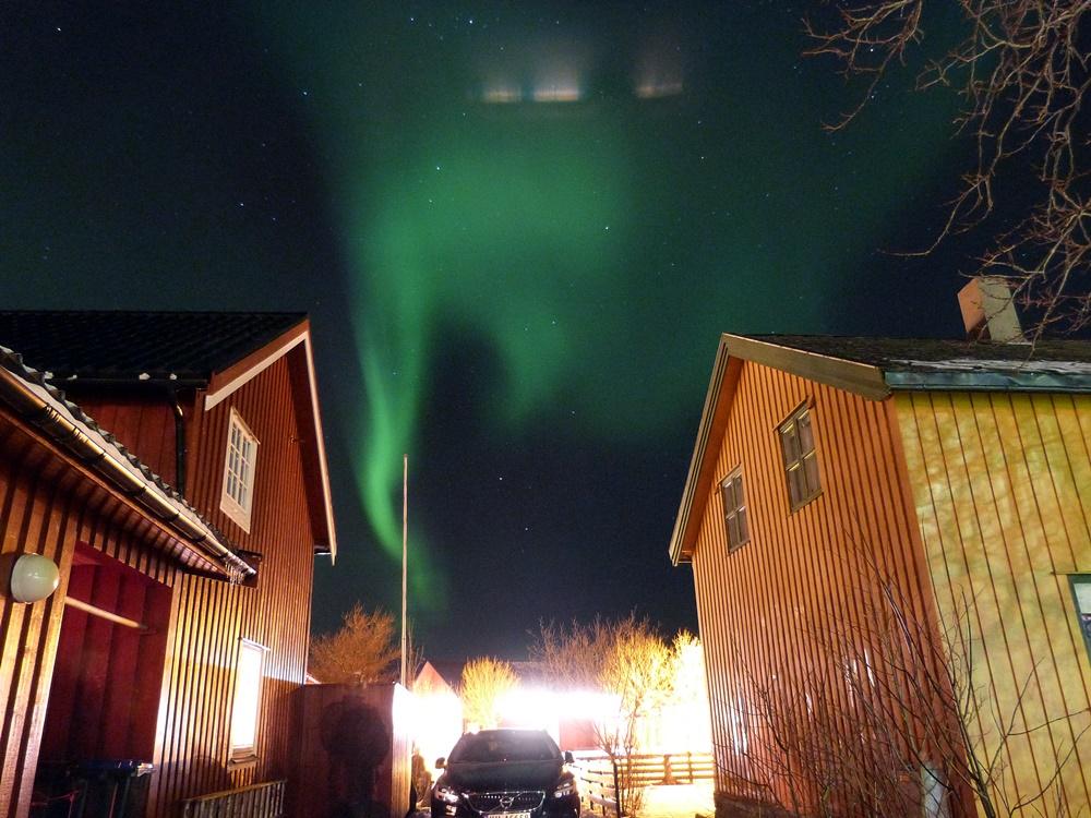 Auroras boreales a la puerta de casa