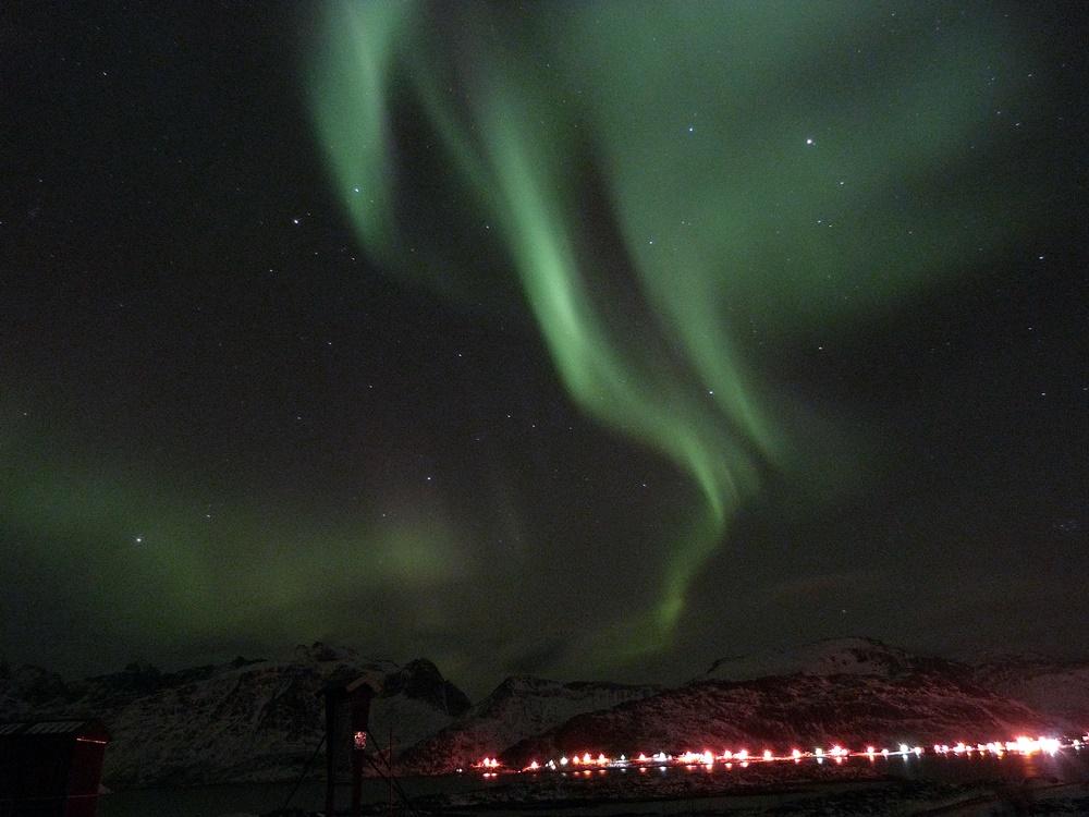Auroras en Lofoten